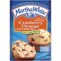 Martha White Muffin Mix Cranberry Orange