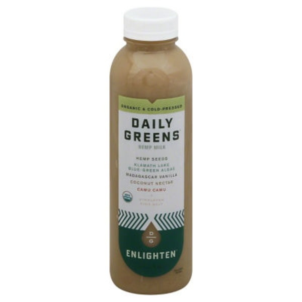 Daily Greens Enlighten Hemp Milk
