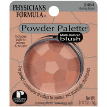 Physicians Formula Powder Palette Multi Colored Blush Blushing Natural 2464