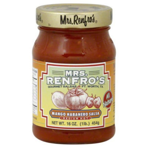 Mrs. Renfro's Medium Hot Mango Habanero Salsa