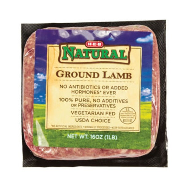 H-E-B Natural Ground Lamb