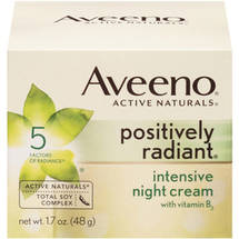 Aveeno Active Naturals Positively Radiant Intensive Night Cream
