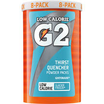 G2 G Series Perform Glacier Freeze Powder Packs
