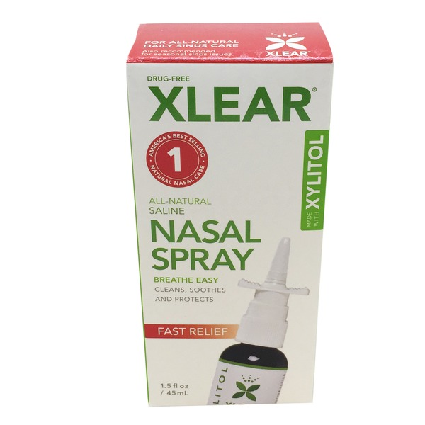 Xlear Nasal Spray With Xylitol