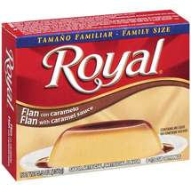 Royal Pudding With Caramel Sauce