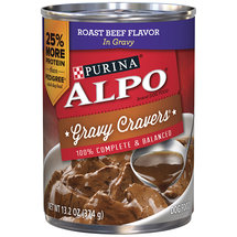 Purina ALPO Prime Slices Homestyle Roast Beef Flavor in Gravy Dog Food
