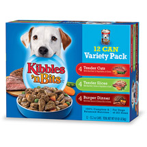 Kibbles N Bits Variety Pack Canned Dog Food