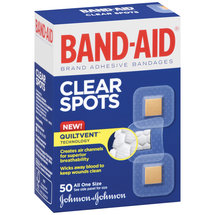 BAND-AID Clear Spots Bandages