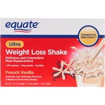 Equate Ultra Weight Loss Shake Vanilla