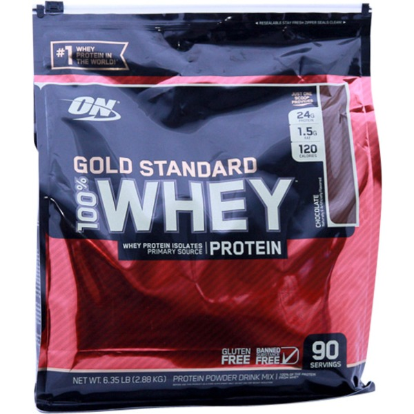 Optimum Nutrition Gold Standard 100% Whey Chocolate Protein