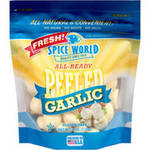 Spice World Peeled Garlic Bag