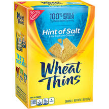 Nabisco Wheat Thins Hint of Salt Snacks