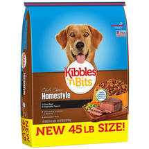 Kibbles 'n Bits Homestyle Grilled Beef and Vegetable Flavors Dry Dog Food