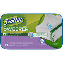 Swiffer Sweeper With Febreze Fresh Scent Wet Mopping Refill Cloths