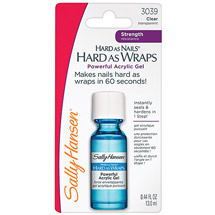 Sally Hansen Hard As Nails Hard As Wraps Acrylic Gel
