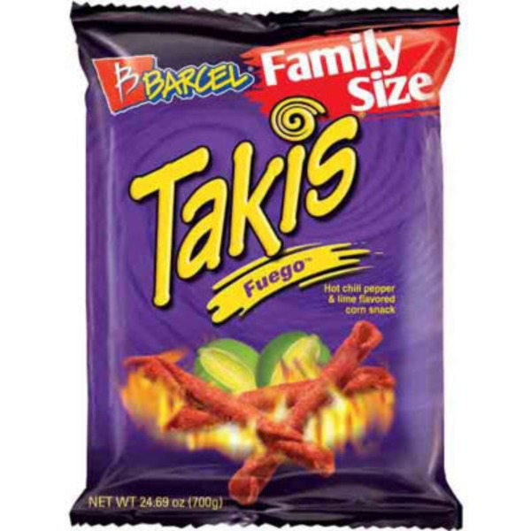 Barcel Takis Fuego Hot Chili & Lime Tortilla Chips