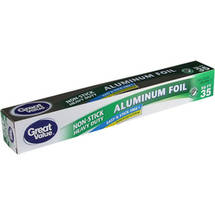 Great Value Non-Stick Heavy Duty Aluminum Foil