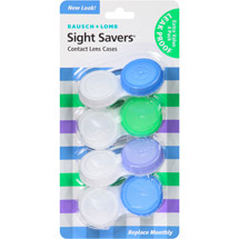 Bausch & Lomb Sight Savers Contact Lens Cases