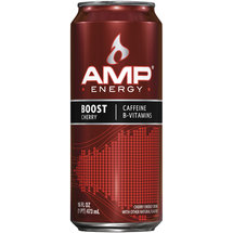 AMP Energy Boost Cherry Energy Drink