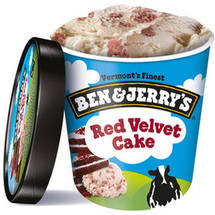 Ben & Jerry's Red Velvet Cake Ice Cream