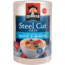 Quaker Quick 3-Minute Steel Cut Oats