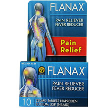 Flanax Naproxen Sodium USP Pain Reliever/Fever Reducer Tablets
