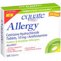 Equate Indoor & Outdoor Allergy 24 Hr