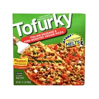 Tofurky Italian Sausage & Fire-Roasted Veggie Pizza