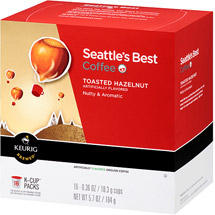 Seattle's Best Coffee Toasted Hazelnut Coffee K-Cups