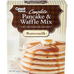 Great Value Buttermilk Complete Pancake & Waffle Mix