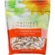 Nature's Harvest Dry Roasted & Salted Pumpkin Seeds
