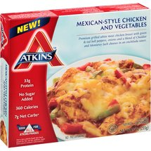 Atkins Mexican-Style Chicken and Vegetables Frozen Entree