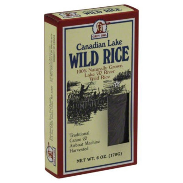 Grey Owl Wild Rice, Canadian Lake