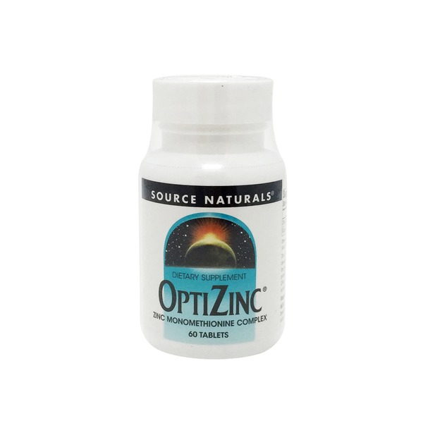 Source Naturals OptiZinc Zinc Monomethionine Complex 30 mg Tablets