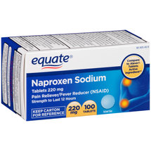 Equate Pain Reliever/Fever Reducer 220Mg Naproxen Sodium