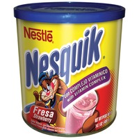 Nestle Nesquik Fortified Strawberry Flavored Milk Powder Flavored Milk Powder