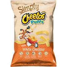 Cheetos Puffs White Cheddar Cheese Flavored Snacks