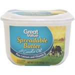 Great Value Spreadable with Canola Oil  Calcium and Vitamin D