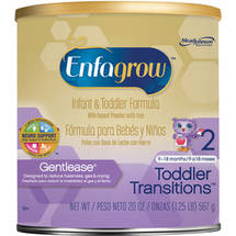 Enfagrow Gentlease Toddler 2 10-36 Months Infant & Toddler Formula