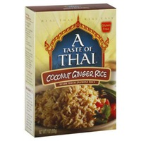 A Taste of Thai Coconut Ginger Rice