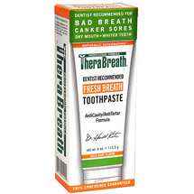TheraBreath Dentist Recommended Fresh Breath Toothpaste