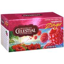 Celestial Seasonings Caffeine Free Raspberry Zinger Herbal Tea Bags