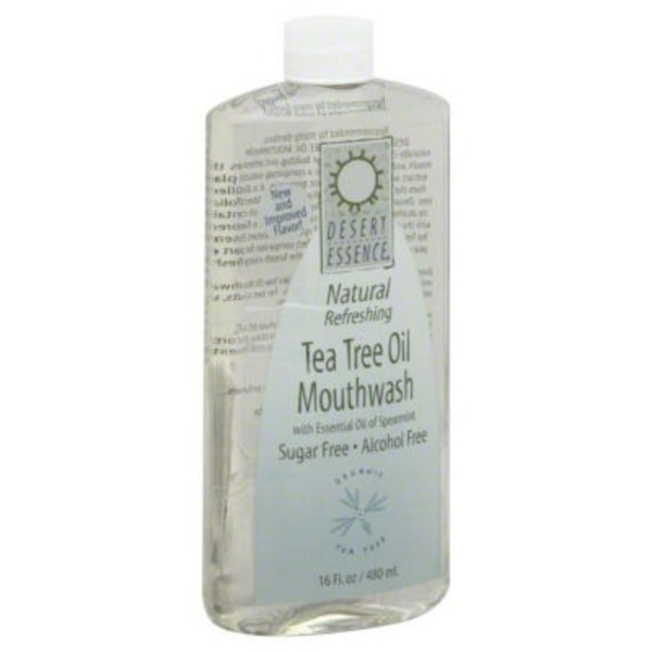 Desert Essence Mouthwash Tea Tree Oil