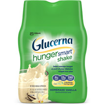 Glucerna Hunger Smart Shake Homemade Vanilla