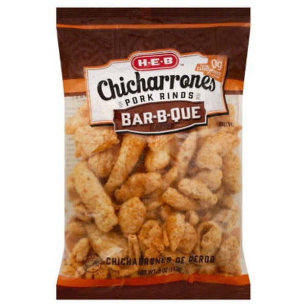H-E-B Chicharrones Bar-B-Que Pork Rinds