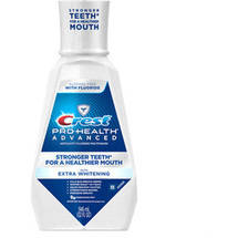 Crest Pro-Health Advanced with Extra Whitening Energizing Mint Flavor Mouthwash
