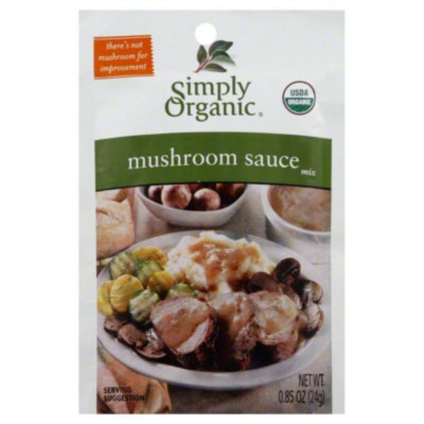 Simply Organic Certified Organic Mushroom Sauce Seasoning Mix