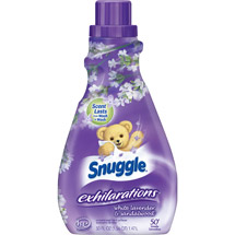 Snuggle Exhilarations Liquid Fabric Softener White Lavender & Sandalwood Twist