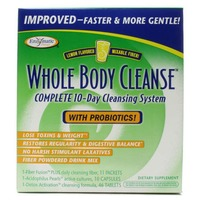 Enzymatic Whole Body Cleanse with Drinkable Fiber Mix Cleansing Kit