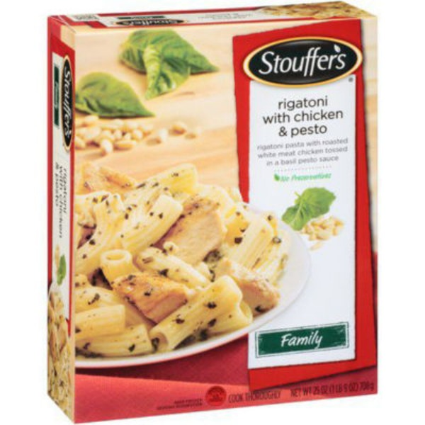 Stouffer's Family Size Creative Comforts Rigatoni with Chicken & Pesto Frozen Entree
